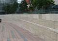 矮墙,砖块铺装