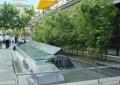 雕塑水景,跌水池,噴水景觀,水池水景,欄桿圍欄,竹子小品