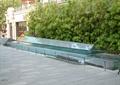 雕塑水景,跌水水景,水池景觀,欄桿圍欄,竹子小品