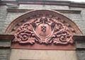 门头设计,门吊造型,雕刻花样,花卉图案