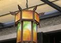 吊灯,仿古灯笼吊灯,中式构件
