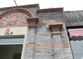 商铺外墙,大门设计,门头设计,外墙石材,花卉图案