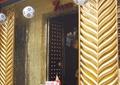 酒吧门头,酒吧大门,泊金装饰,足球吊饰