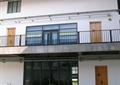 教学楼,护栏,门窗,玻璃窗