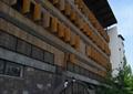设计楼,木质窗子,楼梯