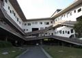 教学楼,车库入口景观