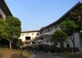學校建筑,圖書館,走廊