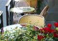 露天咖啡厅,餐桌椅