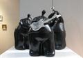 雕塑小品,抽象雕塑,抽象人物,人物组合雕塑