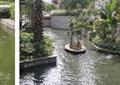 跌水水景,溪流,雕塑水池