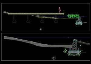 各种驳岸样式CAD施工图