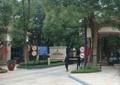小区入口景观,标识墙,标志牌