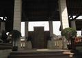 入口设计,入口台阶,花钵,雕塑小品,浮雕景墙