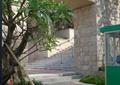小区入口,景墙门,种植池,岗亭