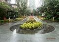 水池景观,景观带,宣传栏,花坛花池