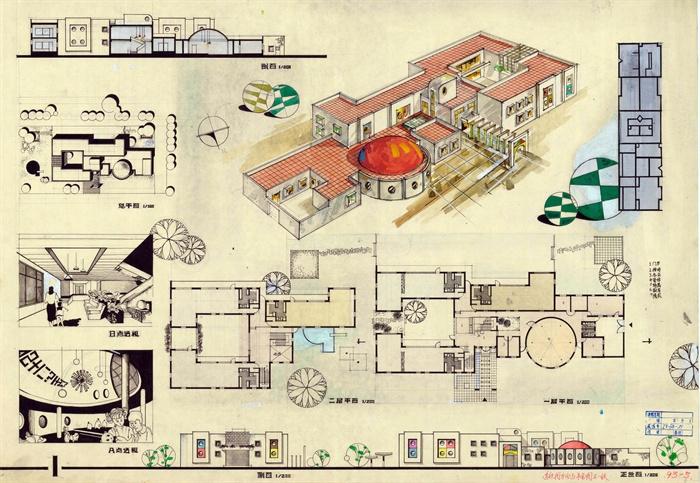 幼儿园建筑设计排版范图jpg格式