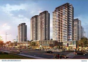 南昌某房地产高层居住小区建筑设计方案文本
