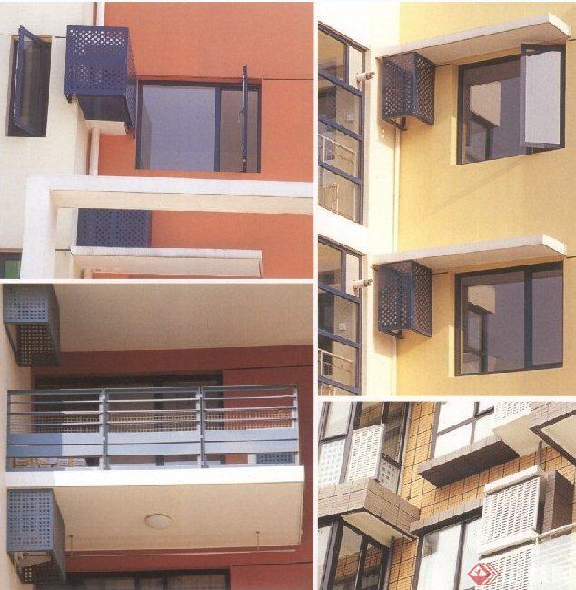 建筑节点空调板设计JPG图(1)