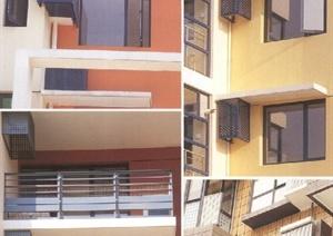 建筑节点空调板设计JPG图