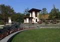 入口景觀,景觀亭,臺階式草坪,陽光草坪,字體圍欄