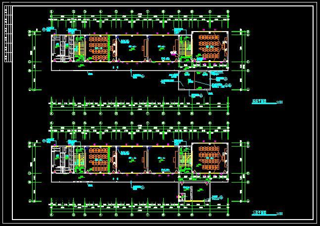 小学四层教学楼建筑设计cad施工图[原创]小学生评选图片