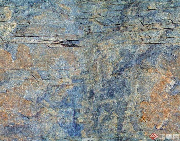 石岩壁材质3d、su贴图(5)