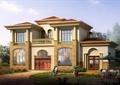 豪华欧式二层别墅建筑设计CAD全套图纸