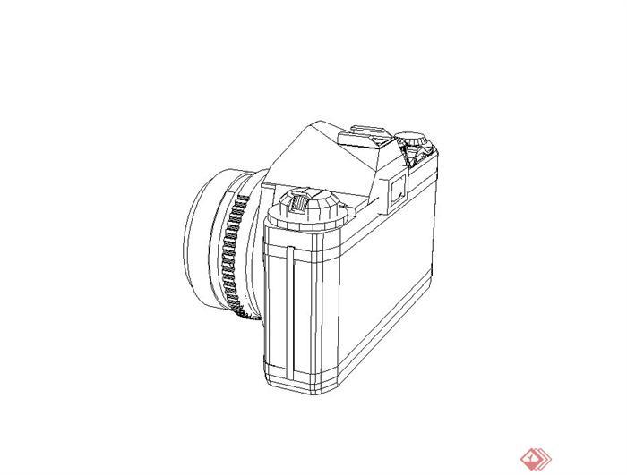 相机手绘稿 简单
