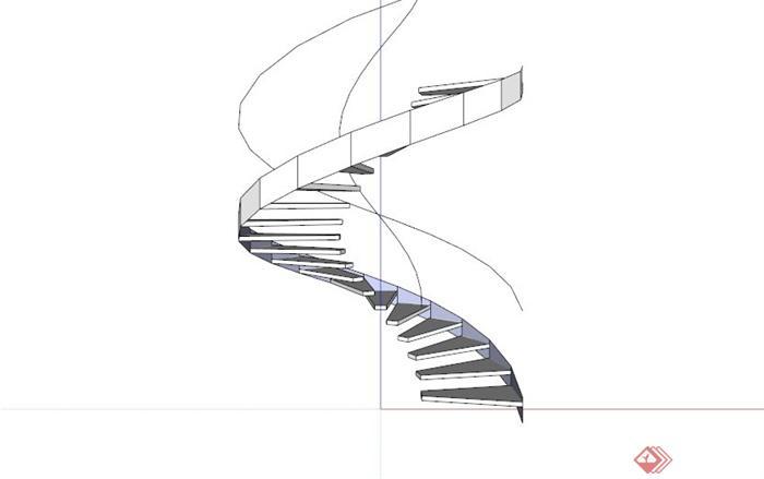 楼梯手绘效果图大全
