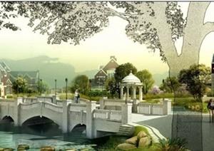 园林景观设计优秀效果图,案例,论文素材