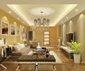 客厅,客厅装饰,吊灯,沙发茶几,电视柜,电视背景墙,挂画