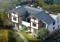 二层双拼别墅建筑设计CAD施工图