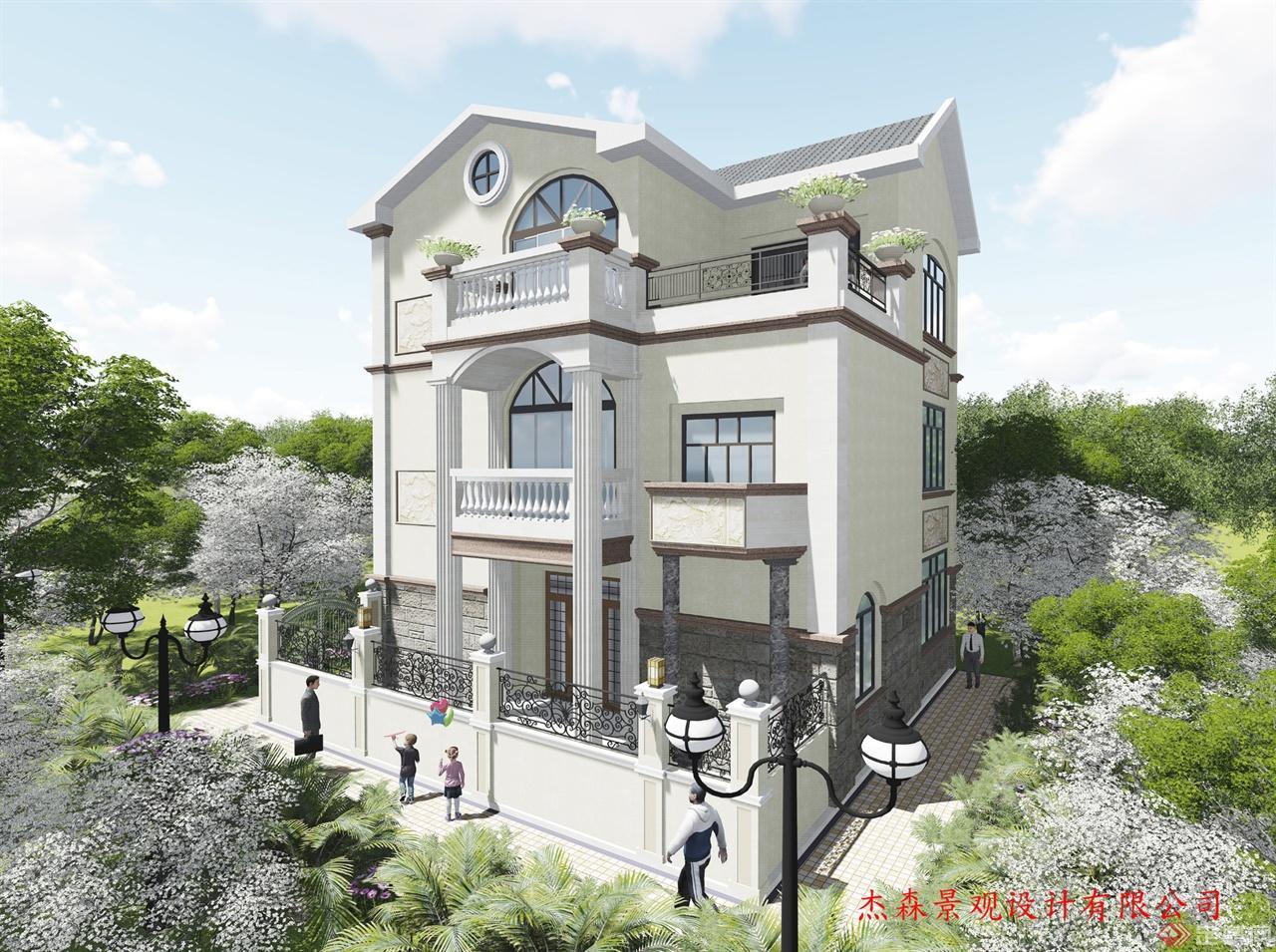 广东二层半经济型别墅