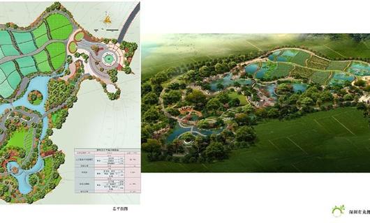 人工濕地公園規劃設計