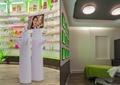 商店展示,商店设计,展示架,体验中心,床