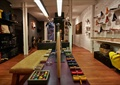 商店设计,商店展示,展示柜,展示架,休闲长凳