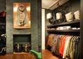 商店设计,商店展示,墙面石材,展示架,单车