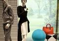 商店设计,商店展示,模特组合,装饰画,装饰柜