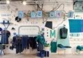 服装店展厅,编织艺术体验店