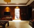 客厅设计,电视柜,电视背景墙,装饰画,墙面石材,茶几