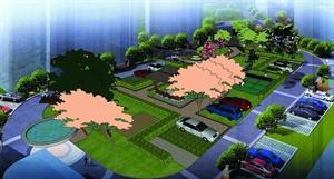 2011年江蘇鹽城濱海財富廣場景觀設計