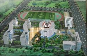 上海松江九亭中學校園綠化設計
