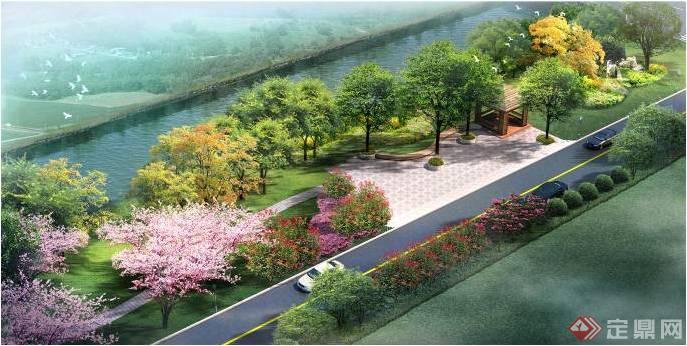 路南段滨水绿地设计