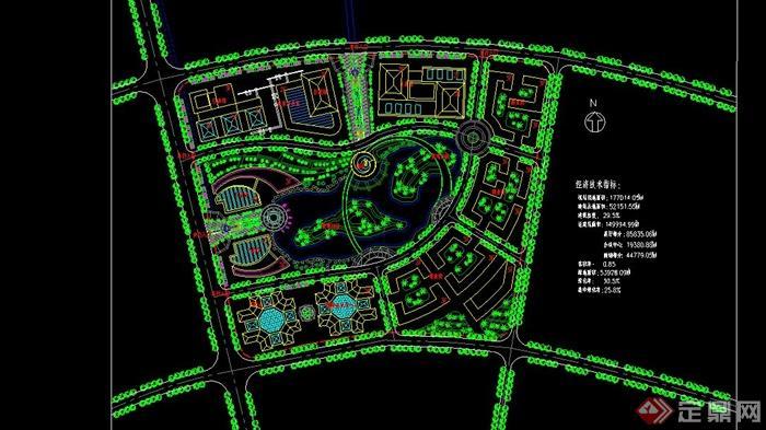 机场绿植景观设计图片