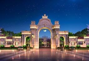 天伦庄园大门景观设计