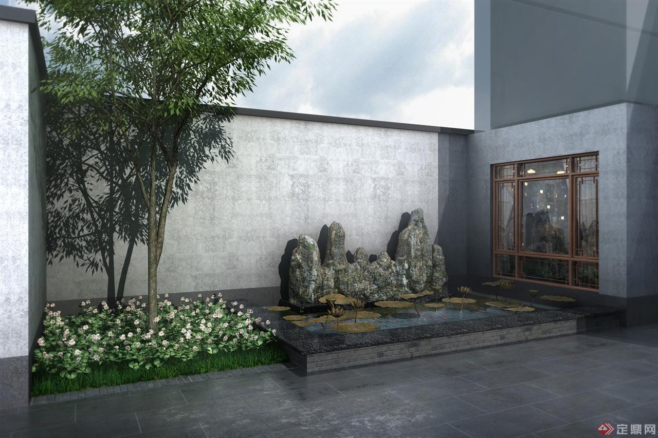 天伦庄园大门景观设计-郑州易方文化传播有限公司