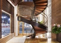商店设计,商店展示,楼梯设计,旋转楼梯