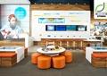 商店设计,商店展示,展示台,展示柜,体验区,宣传墙