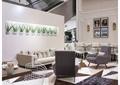茶餐厅,沙发茶几,形象墙