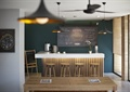 休闲咖啡厅,吧台,吧台坐凳